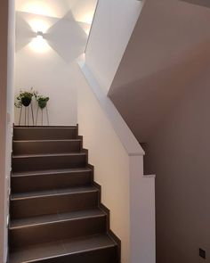 Incidentally, I think it& great that the days are getting brighter now . - Incidentally, I think it& great that the days are getting brighter now. Stair Art, Stair Banister, Stair Decor, Banisters, Verre Design, Mobile Home Living, Pump House, Stair Lighting, Glass Railing