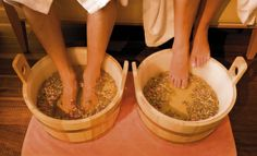 Pampering and beauty baths