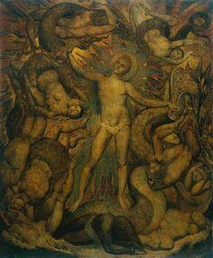 William Blake-The Spiritual Form of Nelson Guiding Leviathan circa 1805-9