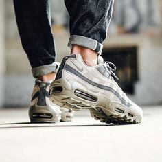 The succulent bubble on this Air Max 95 is Image via @titoloshop #sneakerfreaker #snkrfkr #nike #air #airmax #airmax95