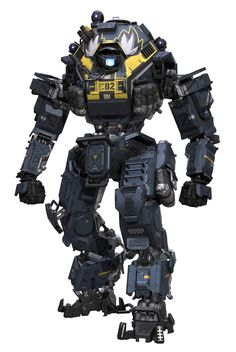 Eating at B-Dubs Can Get You an Exclusive Titanfall 2 Skin and Access to Coliseum Mode Robot Concept Art, Armor Concept, Cyberpunk, Arte Robot, Cool Robots, Sci Fi Armor, Mechanical Design, Mechanical Engineering, Robot Design
