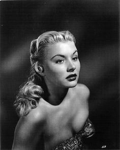 A look at the reissue of Barbara Payton's infamous autobiography, the ghost writer, Barbara, and Barbara's Hollywood hell hole. Old Hollywood Glamour, Golden Age Of Hollywood, Vintage Hollywood, Classic Hollywood, Classic Actresses, Female Actresses, Actors & Actresses, Blonde Celebrities, Beautiful People