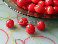 Bowl of Cherries Closeup