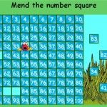 Mend the number square - BBC - Maths Zone Cool Learning Games Fun Math Games, Learning Games, Uk Images, Maths, Bbc, How To Apply, Number, Cool Stuff, Cool Things