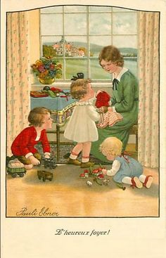 Pauli Ebner (1873-1949) — Old Post Cards  (600x934)