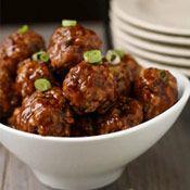 JRF Skinny Asian Meatballs