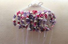 Corona de flores para niñas.