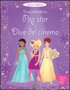 #Pop star e dive del cinema. vesto le editore Usborne publishing  ad Euro 9.26 in #Usborne publishing #Libri libri per ragazzi