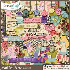Mad Tea Party by Magical Scraps Galore - Gotta Pixel