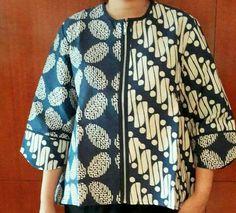 Batik Blazer, Blouse Batik, Batik Dress, Kebaya Dress, Batik Kebaya, Blouse Dress, Mode Batik, Batik Pattern, Batik Fashion