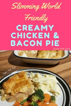 A perfect pie! Low syn Slimming World friendly dinner. Slimming World Chicken Pie, Slimming World Beef, Slimming World Dinners, Slimming World Recipes Syn Free, Vegetable Recipes, Beef Recipes, Cooking Recipes, Teriyaki Chicken, Healthy Meals To Cook
