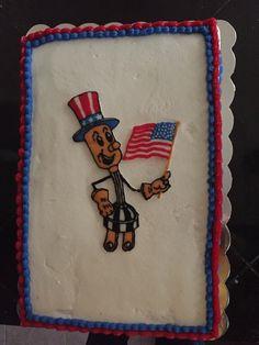 Willie Wiredhand cake