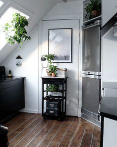 Come decorare una cucina in mansarda | Vivere la mansarda ...