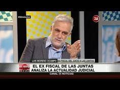 """Luis Moreno Ocampo en """"50 Minutos"""" de María O'Donnell - 22/09/16 - YouTube"""