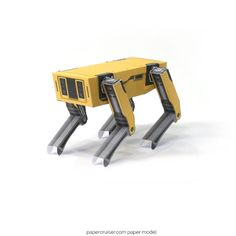 "Boston Dynamics ""SpotMini"" robot dog free paper model"