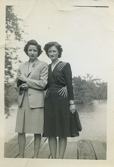 Friends of Betty Jane | 1940s fashion