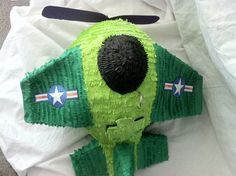Army Airplane Pinata by Outofthisworldpinata on Etsy, $35.00