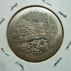 Arizona State Quarter Broad Strike Error. Reverse. I found this coin in circulation