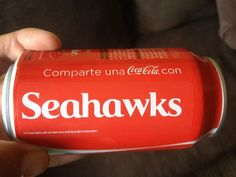 Have a coke and a.....Go Hawks!