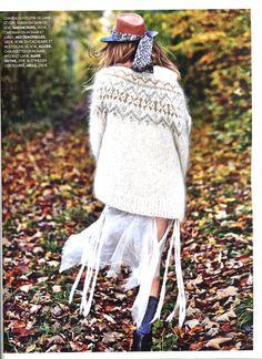 Mes Demoiselles... Paris • Magic Cardigan • Biba • February 2016 #mesdemoisellesparis #fallwinter #cardigan #maille #knitted #oversize #lurex #wool #mohair #winterstyle