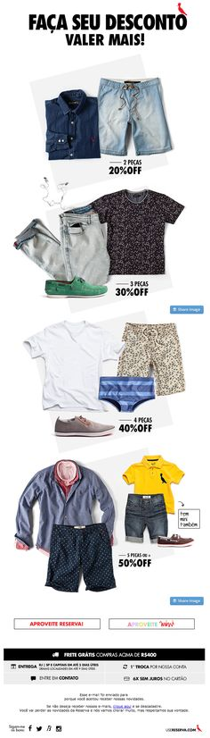 Reserva   newsletter   fashion email   fashion design   email   email marketing   email inspiration   e-mail