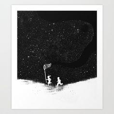 Starfield Art Print by Budi Satria Kwan - $19.97