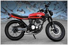 "Renegade Custom's Yamaha Scorpio – ""Desert Racer"" | Pipeburn.com"