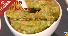 La seconda salsa messicana preparata oggi da Benedetta Parodi è la famosissima salsa guacamole, di cui riportiamo qui sotto la ricetta. Le...
