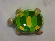 Turtle Soap Dish  Made by Cat