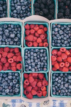 Gal Meets Glam Santa Barbara Farmer's Market - fresh berries
