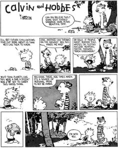 Image result for calvin and hobbes water balloons