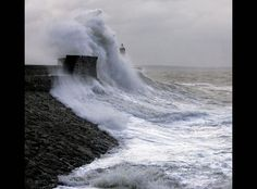 Porthcawl Harbor Storm. Photo #9 by Nick Russill