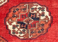 This image, a Salor Fragment Detail, from Serf Ozen.  The site is full of fabulous textile art, for sale.  www.rugrabbit.com