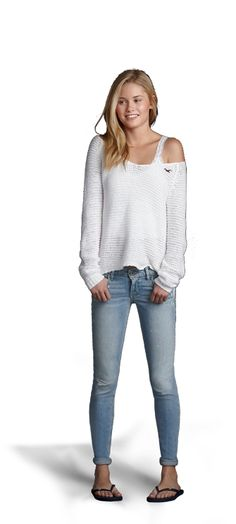 Love this look from Hollister