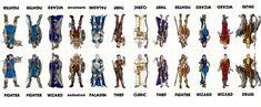 Fantasy Characters 001