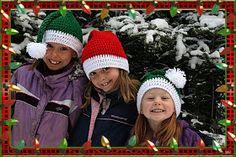 Vallieskids: Santa and Santas Elves Hats