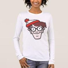 """Where/'s Waldo Red White Waldo Face Stripes Plush Blanket Throw 46/"""" x 60/"""" NEW"""