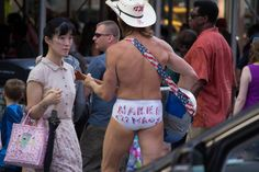 Naked Cowboy on Times Square | Flickr - Photo Sharing!