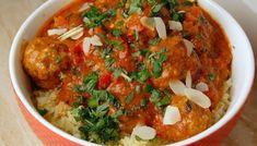 Marokkaanse gehaktballetjes in tomatensaus Chana Masala, Chutney, Slow Cooker, Nom Nom, Salsa, Easy Meals, Easy Recipes, Dinner Recipes, Curry