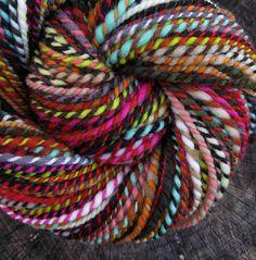 mettle - handspun patchwork yarn  FOLKTALE FIBERS