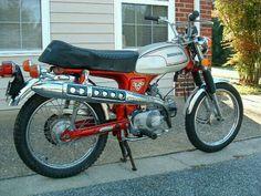 HONDA CL70 SCRAMBLER MOTORCYCLE