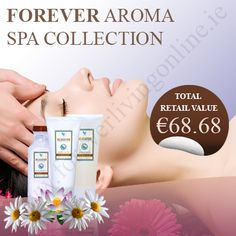 It is a collection of three beneficial products that are able to give you an amazing aroma therapy experience in home. Aloe vera, lavender and white tea have been used to make them. Aroma Therapy, Forever Living Products, Aloe Vera, Ireland, Lavender, Tea, Amazing, Collection, Aromatherapy
