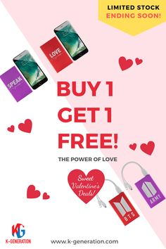 💜 Hey Army, Whether You're Crushing, Dating, Liking, or Loving - We've Got A FREE Gift For Your Valentine! 🚨 LIMITED TIME LEFT! SALE ENDING SOON - ORDER TODAY! ⬆️ CLICK LINK IN BIO TO SHOP 🖱 WWW.K-GENERATION.COM #btsmerch #btsmerchandise #btstour #bts2020