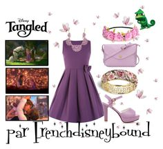 """Raiponce (Tangled)"" by frenchdisneybound ❤ liked on Polyvore featuring Disney, disney, disneybound and tangled"