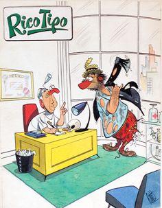 Tapa revista Rico Tipo por Guillermo Divito