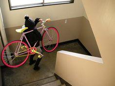 Bike burglar!!! #fixie