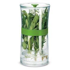 Cuisipro Herb Keeper Cuisipro http://smile.amazon.com/dp/B001RRN4E4/ref=cm_sw_r_pi_dp_4Z9Jtb1E8MPQ0MK9