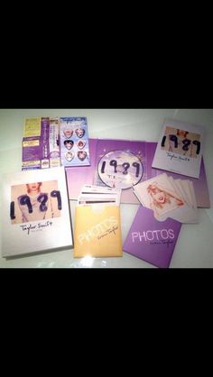 Guys! It's the 1989 World Tour edition in Japan! WHY CAN'T I HAVE????  WHATS THE PURPLE ENVELOPE!!!!