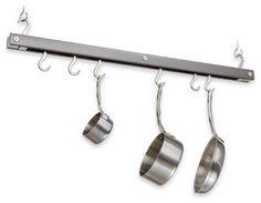 Bar Pot Rack, Gray - traditional - pot racks - J.K. Adams Company