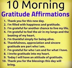 Start your week right! what are you grateful for dreams prosperity affirmations prosperity quotes prosperity affirmations affirmation quotes improve your life motivation affirmations positive mantras mantra quotes money wealth circulate money surplus Positive Affirmations Quotes, Self Love Affirmations, Morning Affirmations, Gratitude Quotes, Affirmation Quotes, Positive Quotes, Attitude Of Gratitude, Words Of Gratitude, Prosperity Affirmations